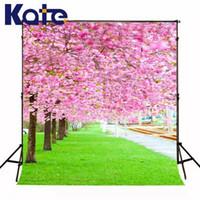 Tela de fondo de la boda con fondo de tela de vinilo floral rosa para fotos Fotografía de tela de la computadora de mallina impresa digital (k123)