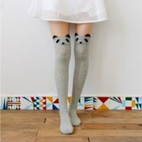 Wholesale 2016 fanshion winder warm snow socks cute cotton sock Animal Pattern comforable sock Thigh Over Knee High Socks