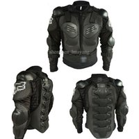 Wholesale 10pcs New motorcycle body armor motocross armour motorcycle jackets with protective gear black size M XXXL Free DHL Fedex