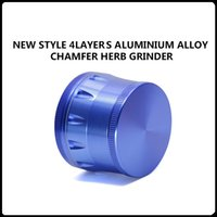 alloy services - 4 Layers Aluminium Alloy Chamfer Grinders New Arrivals mm OEM service Herb Metal Grinders VS Sharpstone Grinders Sharpstone version