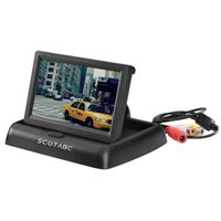 Wholesale Scotabc Foldable Inch Color LCD TFT Rearview Monitor Screen for Car Backup Camera