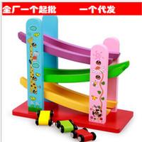 Wholesale Children wooden toys glider coaster car children s Pretend Play and Dress up toy for children s birthday gift