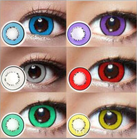 Wholesale Storm Series Big eyes eye contactLenses Cosmetic contact lenses eye color yearly use cosplay halloween Freeshipping