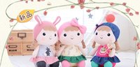 Wholesale 20151150Metoo beans accompany sleep doll to appease the baby plush toy cloth doll girl baby doll gift