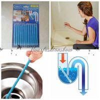 Wholesale Fedex DHL Free set Sani Sticks Drain Cleaner Kitchen Toilet Bathtub Dredge Agent Drain Cleaners Keeps Pipes Deodorization M536