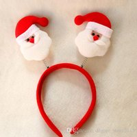 bear ears headband - Christmas ear headband and bear Christmas elderly snowman deer Children hair accessories