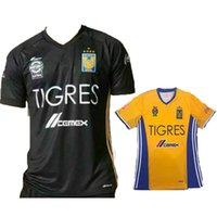 Wholesale Tigres UANL Stars soccer jerseys Mexico club Tigres home Away Stars football shirt jersey thai quality