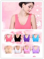 Wholesale High Quality Seamless Bra Microfiber Pullover Bra Body Shape Sport Bra