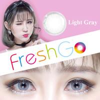 ball contact - Hot Selling Glass Ball Color Contact Lenses Big Eye Circle Lens Ready Stock