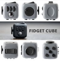 Wholesale In Stock High quality Fidget Cube Anxiety Stress Relief Focus side Dice For Adults Child