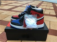 Wholesale 2016 Boys Sports Air Retro I Top High OG Banned Retro bred Mens basketball shoes Sneakers size with box