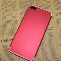 Android couleur email Prix-Rouge Goophone i7 Plus Android 6.0 Quad Core MTK6580 128 Go 256 Go 5.5 pouces FHD 1920 * 1080 13MP 3G WCDMA Smartphone déverrouillé