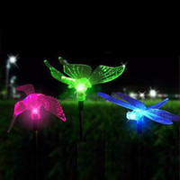 animal lawn ornaments - Garden Buildings Garden Ornaments SET Outdoor LED Solar Lawn Animals Shape Lights Stainless Steel Pipe Garden Lamp Path Landscape