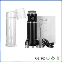 battery nails - Portable Top Nail With mAh battery For Wax Dry Herb Atomizer Electronic Cigarettes kits Wax Vaporizer Pen Kit