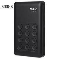 aes usb - Netac K390 USB quot External Hard Drive TB TB GB Hardware Encryption with Independent Keypad Lock AES bit