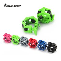 Wholesale six color large buckle fitness equipment weightlifting dumbbell accessories barbell pole weight plate