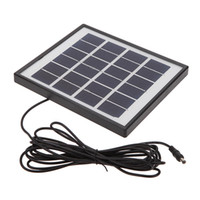 4W Solar Powered Panel 3 LED Light Lamp USB 5V Cell Mobile Phone Charger Home System Kit Garden Pathway Escalier Camping Pêche à l'extérieur L0333