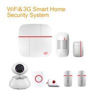 Wholesale Home House Office Security Burglar Intruder G Auto Dialer Alarm System APP Indoor Siren