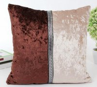 Wholesale Sequin Pillow Case cover Fashion Novelty Reversible Sofa Cushion Cover Magic Pillow Covers Cafe Home Decor