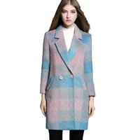 Wholesale 2016 new women s wool coat winter tide in the long section of color