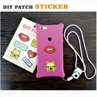 Wholesale PA32 Pc Pack Fashion Patch Sticker with Emoji Surprise Amour Pattern for decoration DIY Sticker Accessories