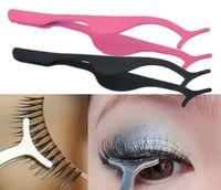 Wholesale Eyelash Curler Stainless Steel Women False Eyelash Fake Eye Lash Applicator Clip Makeup Tool New Stainless Steel Beauty Applicator