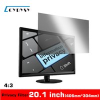 Wholesale 3M Quality Inch Diagonally Measured Privacy Screen for Standardscreen Desktop Computer PC Monitors Privacy Filter mm mm
