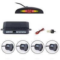 Wholesale 10pcs a Car Parking Sensor Kit Auto LED Display Reverse Assistance Backup Radar Monitor Parking System with Park Sensors