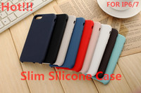 Wholesale Genuine silicone Cases for iphone s Cover Candy Colors Phone Case for Apple iphone plus