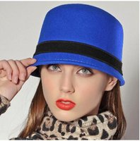 Wholesale High quality Lady Cloche Hat Wool Felt Hats dome wintter cap For Women