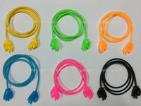 Wholesale 120pcs silicone OK hand type eyeglass stretchy cord spectacle chain string lanyard eyeweare retainer