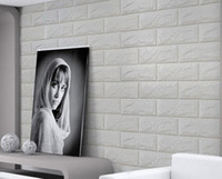 Wholesale Romantic embossed d wall panel faux brick wall panels xpe material wall sticker