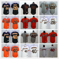best buster - Cheap Best Quality San Francisco Giants Flexbase Buster Posey Baseball Jerseys Elite Madison Bumgarner Jersey