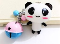 Cheap Metal panda key chain for birthday gifts Best Animal Stainless Steel bags beautiful and fashion decoration