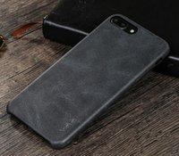 Nuevo llega la célula IPhone 7 de la PU del cuero de la caja del teléfono de la protección de la gota más la cubierta de las cajas El envío libre C011
