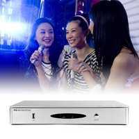 Wholesale HD HYNUDAL Chinese Karaoke Player Sing machine TB HDD System K Original KTV MTV Songs Have Wifi Fuction can connect the photo