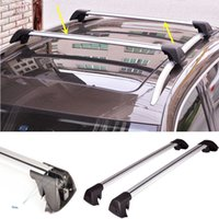 Wholesale 2PCS TRUCK Black Alloy Roof Rack Car Luggage Carrier Travel For Benz C200 diy