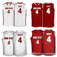 aaron craft - Factory Outle Aaron Craft Ohio State Buckeyes basketball Jerseys white red Embroidery Stitched Personalized Custom any size and name Jers