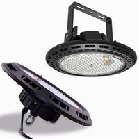 Wholesale 100W W W W UFO LED High Bay Light Round LED Warehouse Lamp IP65 LED Industrial Lighting Fixtures V CREE Chip LM W