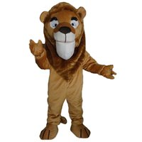 Wholesale Lion King Mascot Costume Cartoon Real Photo