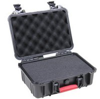 aluminum foam case - Tool case tollbox Impact resistant sealed waterproof safe case x236x126mm security equipment camera box tool case with foam