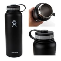 Wholesale DHL oz oz Hydro Flask Water Bottle with Flat Cap Stainless Steel HYDRO FlASK Mugs