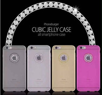 apple jelly cake - Sell like hot cakes in the factory outlet ultra thin TPU jelly drill shell phone cases