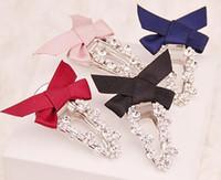 alexandrite chain - South Korea imported high grade catch a chain drill a word han edition bowknot clip hair accessories