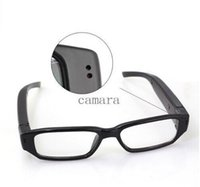 Wholesale 720P Spy Camera Hidden Camera Glasses With Mini Spay Camera Camcorder Sport DVR