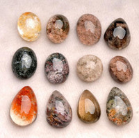stone vision with best reviews - Natural green ghosts red crystal pendant rough stone Visions of original rock of crystal pendant pendant with men and women