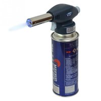 automatic soldering - 915 Outdoor Camping BBQ Flame Gas Torch Flamethrower Butane Lighter Automatic Piezoelectricity Ignite Soldering Welding