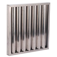 baffle grease filter - Commercial kitchen stainless steel baffle grease filter