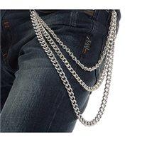 Wholesale Hip hop waist chain metal waist chain rock waist chain women and men waist chain