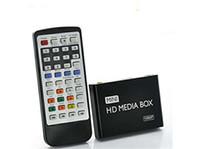 MKV / RM-SD / USB / SDHC / MMC HDD-HDMI de la nouvelle de mini HDMI Media Player 1080P Full HD TV